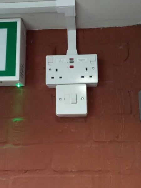 RCD socket
